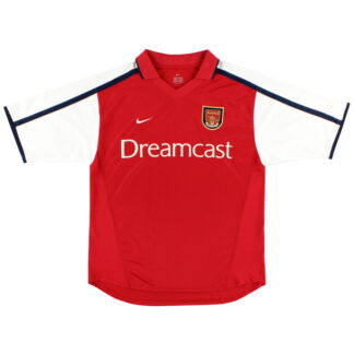 2000-02 Arsenal Nike Home Shirt L