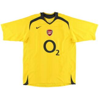 2005-06 Arsenal Nike Away Shirt L