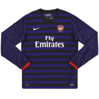 2012-13 Arsenal Nike Away Shirt L/S XL.Boys