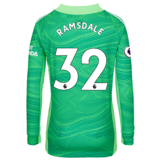 Aaron Ramsdale - Arsenal Junior 21/22 Goalkeeper Shirt 11-12, Green