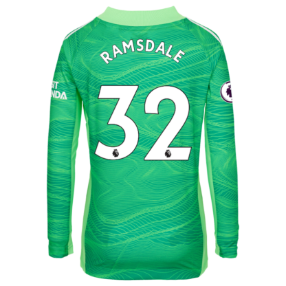 Aaron Ramsdale - Arsenal Junior 21/22 Goalkeeper Shirt 9-10, Green
