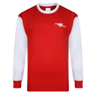 Arsenal 1971 Long Sleeve Retro Shirt