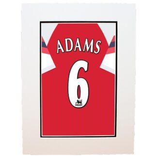 Arsenal Adams 6 Retro Shirt Print, Multi