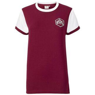Arsenal Womens Retro 1930s Crest Shirt 6, Red