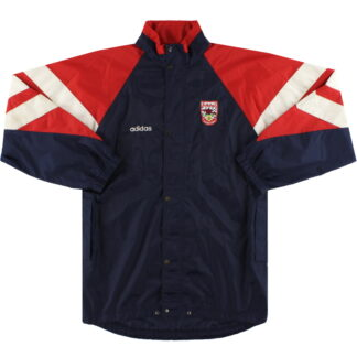 1990-92 Arsenal adidas Rain Coat S