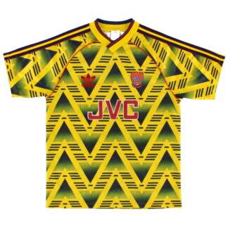 1991-93 Arsenal adidas Away Shirt L
