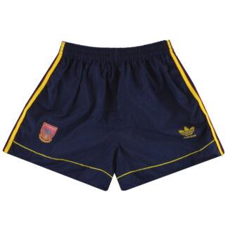 1991-93 Arsenal adidas Away Shorts S