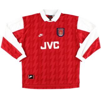 1994-96 Arsenal Nike Home Shirt L/S XL