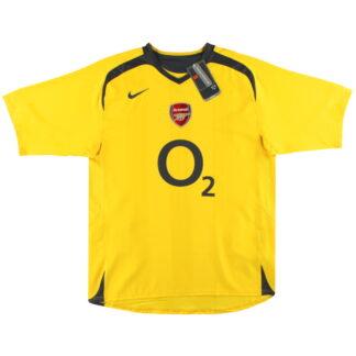 2005-06 Arsenal Nike Away Shirt *BNIB* L