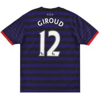 2012-13 Arsenal Nike Away Shirt Giroud #12 L